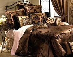 luxury bedding on Pinterest