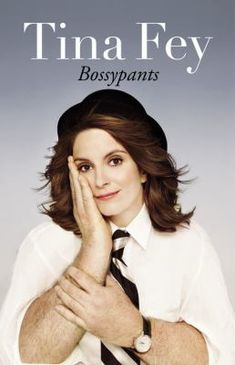 Bossypants by Tina Fey -- From her youthful days as a vicious nerd to her tour of duty on Saturday Night Live; from her passionately halfhearted pursuit of physical beauty to her life as a mother eating things off the floor; from her one-sided college romance to her nearly fatal honeymoon, comedian Tina Fey reveals all, and proves that you're no one until someone calls you bossy. #books #reading (Also available for checkout as a downloadable audio book: http://bit.ly/K5ENPS)