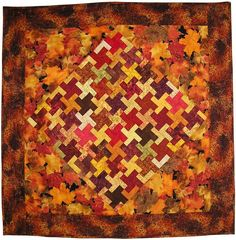"TUTORIAL: ""Autumn Tessellations"" by Chris Franses at P and Q magazine (British Patchwork and Quilting)"
