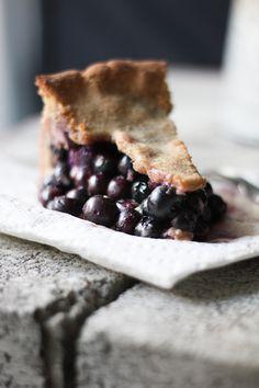 buttermilk blueberry pie