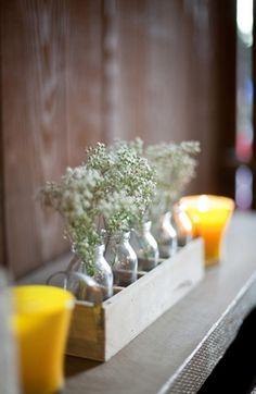 floral print, ruffles, diy, centerpieces, chic, country, decor, decoração, decoration, decorations, details, flowers, gray, green, mint, reception, rustic, table, vintage, light, modern, pink, slate, yellow, wedding
