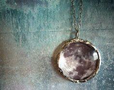 Full moon pendant.