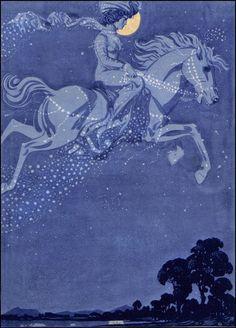 Julius Diez — The Sleepwalker — 1907