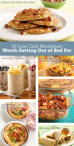 LOW CARB options for breakfast recipes - pancakes, muffins, etc.- so happy to find this since low carb is so hard for breakfast (besides eggs!!)