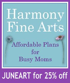 Harmony Fine Arts Discount Code: JUNEART for 25% off!