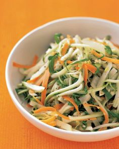 Super Bowl // Bok Choy, Carrot, and Apple Slaw Recipe