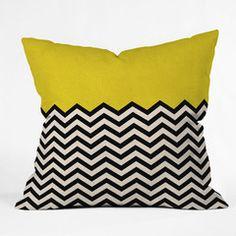 Great throw pillows here - Bianca Green Follow The Sun Throw Pillow