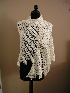 Seraphina Shawl - I think I'll start this project with my remaining skeins of dove grey Simply Soft...
