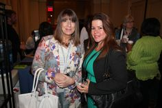Susan Saurage-Altenloh, President of QRCA and @Adriana Rocha of @eCGlobal Solutions