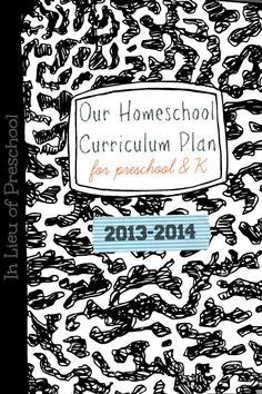 Curriculum ideas for a 4/5.5 yr old
