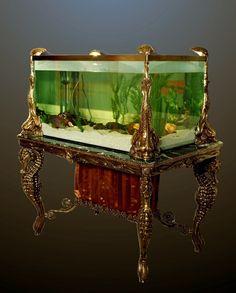 Antique aquarium -