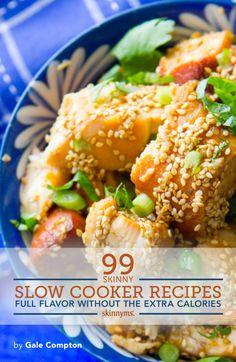 99 Delicious Easy-Prep Crockpot Recipes. Recipe featured: Slow Cooker Sesame Chicken!  #slowcooker #ebook #crockpotrecipes #crockpot