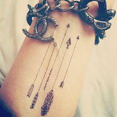 Cute Arrows Tattoo Design - Tattoo Design Ideas Tattoo Design, Design Tattoo, Cute Tattoo