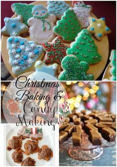 Christmas baking and