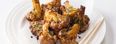 Recepty: Květákové hot wings