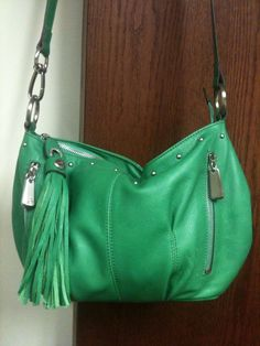 Emily G. found this fabulous handbag! We are green with envy #FanFinds #Marshalls, www.LadiesStylish.com ... LOVE. #ElegantBags