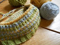 knit 1, clay 2: Slipping away the yarn