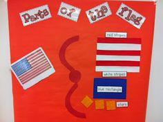 Parts of a flag activity