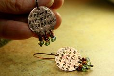 A Penny For Your Thoughts Hand Stamped  by AllowingArtDesigns, $20.00