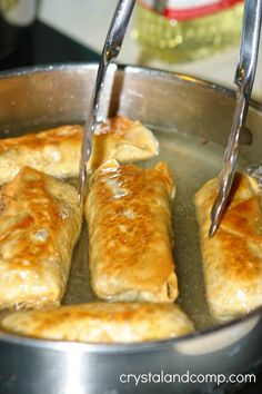 Kid-made egg rolls.  I used to make these as a tween and hadn't thought of it for years until reading this!
