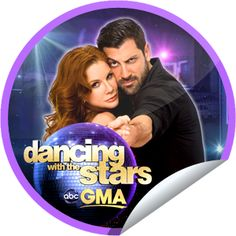 DWTS on GMA on May 9! Sticker | GetGlue