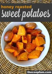 sweet potaot, healthier side, potatoes, food idea, roast sweet