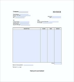 contractor hourly invoice template  Sample Hourly Invoice templates , Hourly Invoice Template , General ...