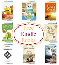 17 Kindle Freebies: The Call to Duty, 30 Day Praise Challenge, Paleo Condiments, & More!