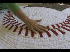 Shari teaches you how to sew a baseball quilt.-----Cute!!