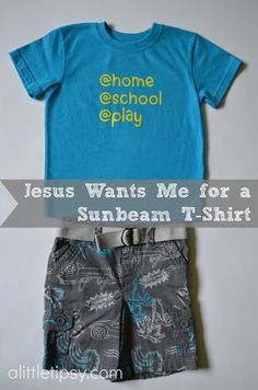 A Little Tipsy: Jesus Wants Me for a Sunbeam T-Shirt