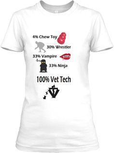 100% Vet Tech | Teespring