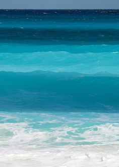 Blue, blue, blue ocean.