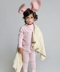 Homemade Halloween. 21 Kids Costume Ideas. (This one is pig in a blanket!)