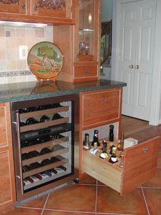 Dry Bar Ideas On Pinterest Basements Kitchen Cabinets