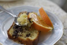 Olive Oil & Ricotta Cake (with Chocolate & Orange)