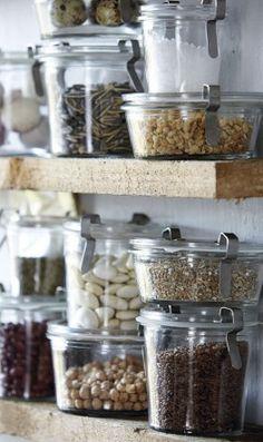 storage weck jars