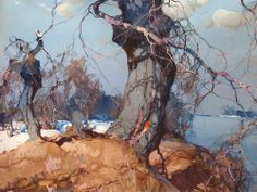 Stepan Fedorovic Kolesnikov (1879 – 1955) – Russian landscape painter