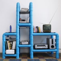 Funky entertainment center!