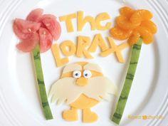 Dr. Seuss' The Lorax snack idea