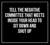 Shut up and sit down!