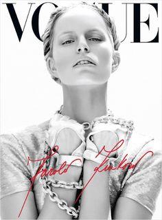 Karolina Kurkova second cover for Vogue Mexico, June 2012
