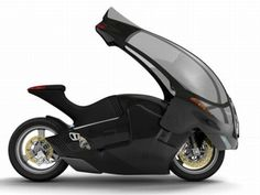 Crossbow Motorbike is the world's first true all weather two wheeler