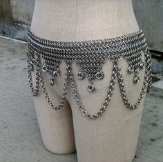 chain maille hipscar Haha the best of both of my fantasy worlds!