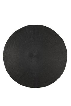 solid placemats - set of 4 BLACK
