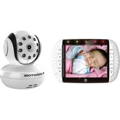 motorola baby monitor - fantastic baby gift (it sold us on video monitors!)