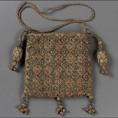 Drawstring bag        English, 1600–25