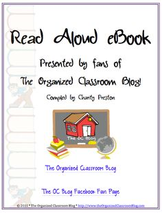 Get Your Free Read Alouds eBook Right Here! - The Organized Classroom Blog