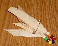 Fall Craft Pin - Girl Scout Swap