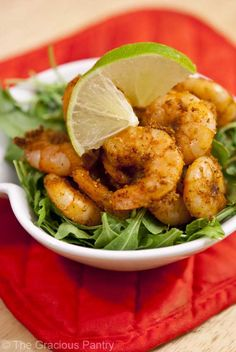 Clean Eating Taco Shrimp #Healthy #Recipes #Lunch #Dinner