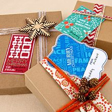 Gift tags! Print your own *cute* gift tags! Lots of great styles to choose from- which is your favorite?